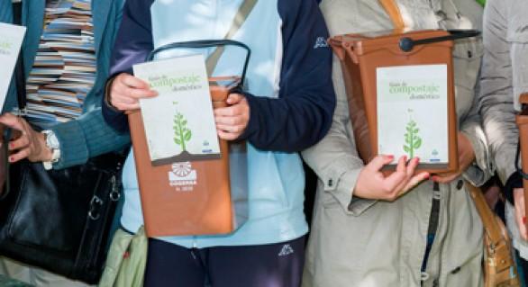 El compostaje comunitario, asignatura 'transversal'