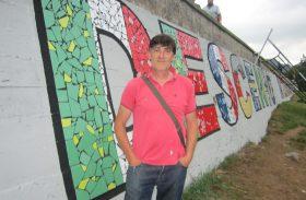 """Agustín Aramburu: """"Este muro realza el valor más importante que posee Parres, el Descenso del Sella"""""""