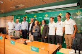El equipo ciclista Caja Rural-Seguros RGA presenta su 'Iniciativa Solidaria' en favor la Fundación ONCE